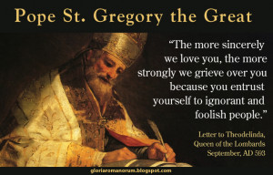 An image for the Feast of St. Gregory the Great, September 3