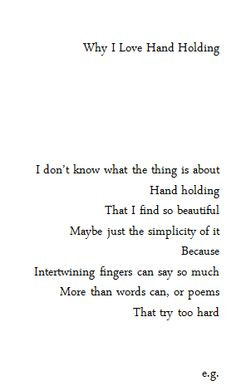 Why I Love Hand Holding Relationship Quotes--Become a Love Magnet with ...