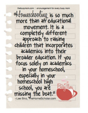 Homeschooling enables families to tap into a wealth of resources to ...