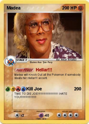 ... passport name madea type fighting attack 1 hellar madea will knock