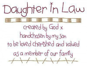 ... , Christmas Gift, Daughters In Law Quotes, Future Daughters In Law