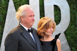 Graydon Carter Vanity Fair editor Graydon Carter and Anna Scott arrive ...
