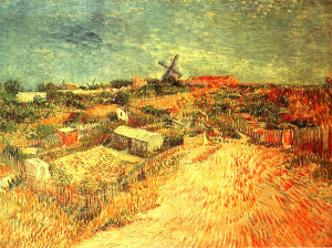 Ecco come van Gogh ha visto Montmartre nel 1887.