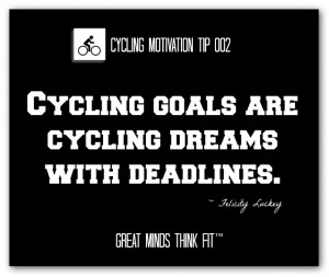 Cycling Motivation Tip and Quote #002