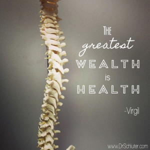 The greatest wealth is #health... #quote