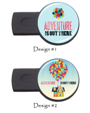 Adventure Is Out There Disney Up Pixar Quotes USB Flash Memory Drive ...