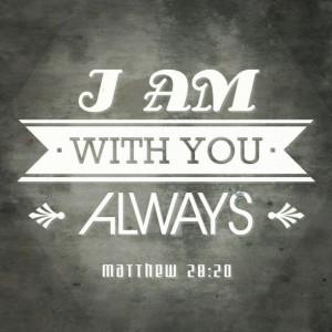 ... Matthew 28:20 #God #bible #verses #prayers #faith #love #happiness