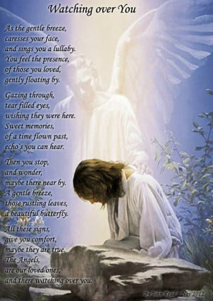 Angels Watching Over You Poems