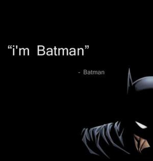 Funny Batman Quotes
