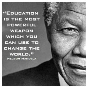 Famous Education Quotes By Nelson Mandela