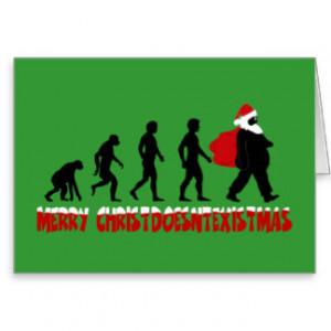 Atheist Christmas Greeting Cards
