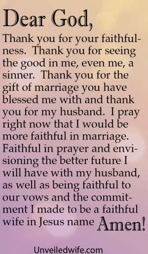 ... from the day I met him that I would always be Faithful to him