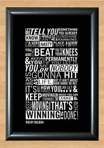 Rocky-Movie-Quote-Retro-Sylvester-Stallone-Decor-Photo-Poster-Picture ...
