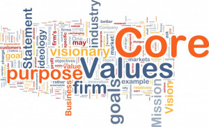 The Power of Creating a Core Values List