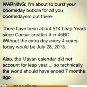 end of the world funny