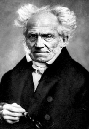 Arthur Schopenhauer (German philosopher, animal rights proponent ...