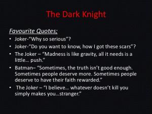 Famous Joker Quotes Dark Knight The dark knightfavourite