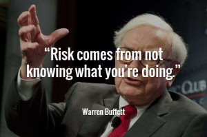 Taking risks and taking calculated risks are two completely different ...