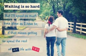 Love! True love waits
