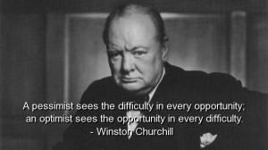 Winston churchill, quotes, sayings, quote, pessimist, optimist