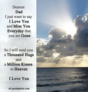 Missing You Dad Quotes Death | missing you quotes death of dad