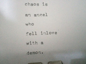 Angel And Demon Love Quotes Love quotes
