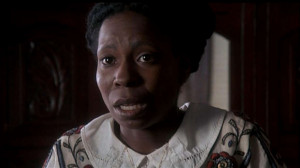 Whoopi Goldberg in The Color Purple as Celie Johnson