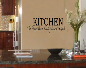 Kitchen Quote Wall Decal Dinner Choices Take It Or by vgwalldecals