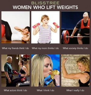 What I Really Do' For Women Who Lift Weights
