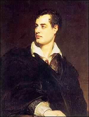 hide caption This portrait of George Gordon, Lord Byron, was painted ...
