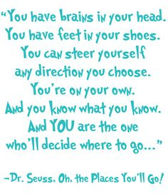 dr seuss oh the places you'll go | oh the places you'll go More