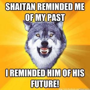 Shaitan vs Courage Wolf