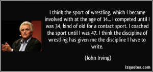 More John Irving Quotes