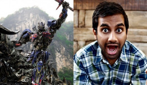 Aziz Ansari has pleaded with moviegoers across the world to stop ...