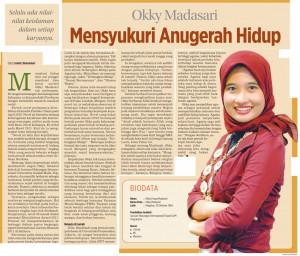 Okky Madasari Mensyukuri Anugerah Hidup