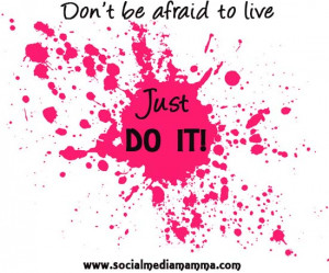 dont be afraid to live-#inspiring #quotes Inspirational quotes Gaynor ...