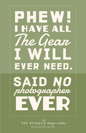 Shoppe Satire ~ Humor for Photographers ~ Photography Jokes