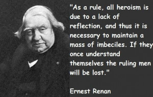 Ernest renan famous quotes 2