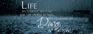 Inspirational Quotes on life - facebook Timeline cover