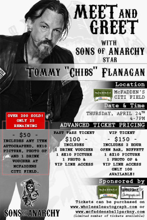 """Tommy """"Chibs"""" Flanagan from Sons of Anarchy Meet & Greet – April ..."""
