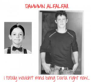 little rascals alfalfa and darla quotes