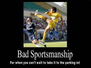 Bad Sportsmanship by psbox362