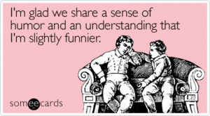 But humor has to be handled right. Just being funny online is not ...