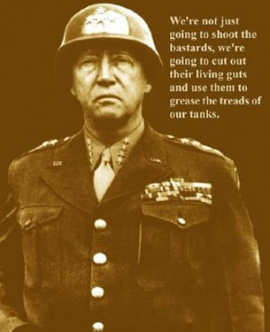 general george s patton about general patton
