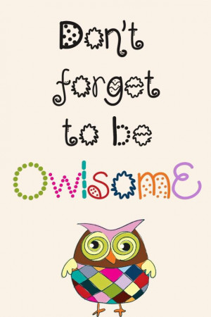 Owlsome' from http://thislifesahoot.weebly.com/owls.html
