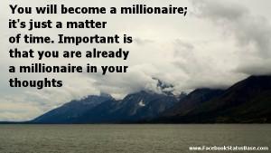 millionaire quotes -