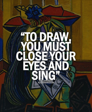 pablo picasso quotes | Tumblr