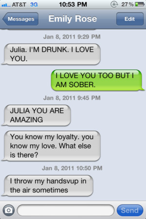 If you enjoyed the best drunk texts ever, check out hilarious iPhone ...