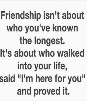 Here For You – Friendship Quote