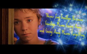 Jeremy Sumpter Peter Pan Quotes Peter pan quote by jessipan
